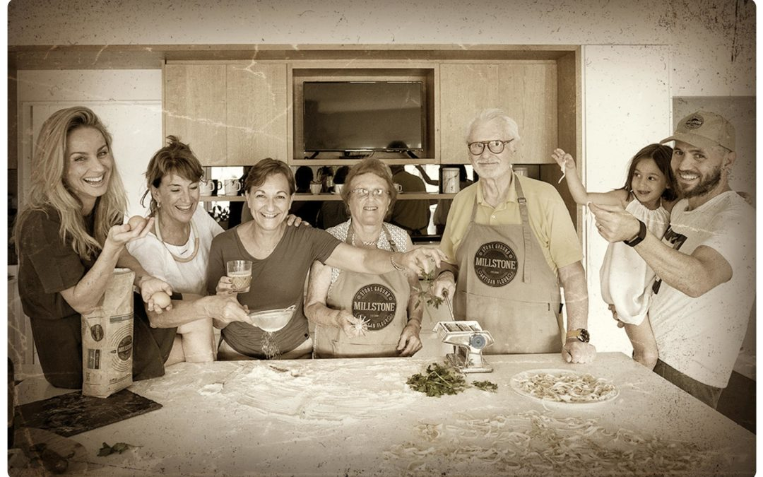 Authentic Italian Cooking with Millstone Flour; Farina 00 & Nonna Anna